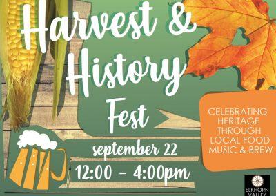 History & Harvest Fest