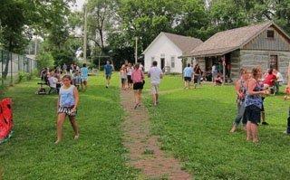Dederman Schoolhouse & Cabin 4th of July