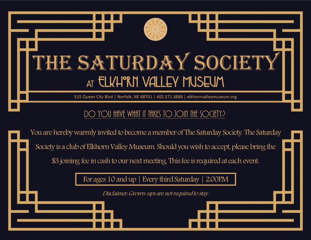 the Saturday Society