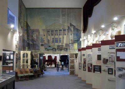 Rear Lobby Displays